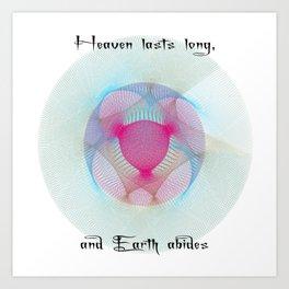 Mandala Astronomy Art Science Art Tao Teh Ching Art Print