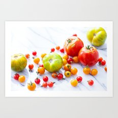 Tennessee Tomatoes 2 Art Print