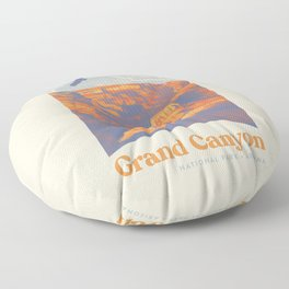Grand Canyon National Park Floor Pillow
