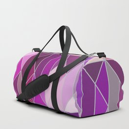Pattern In Pink And Purple Gradient Duffle Bag