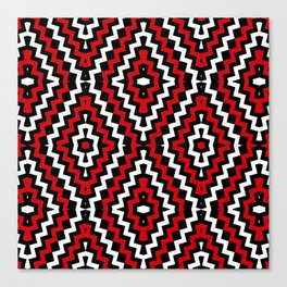 GEO -TRIBE Canvas Print