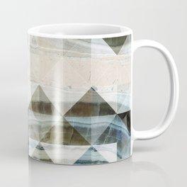 Geo Marble - Natural and Blue #buyart #marble Coffee Mug