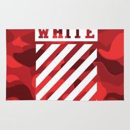 Off-White Bape Camo Red Rug