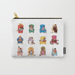 Reading fictional characters Carry-All Pouch