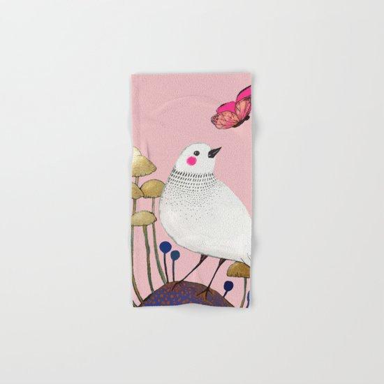 pink wall Hand & Bath Towel
