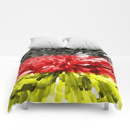 Extruded Flag of Germany Comforters