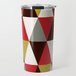 Midcentury harlequin pattern Travel Mug