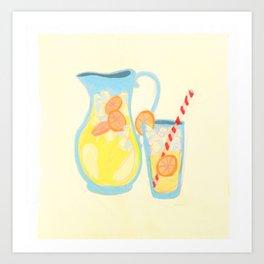 Southern Hygge: Lemonade Art Print