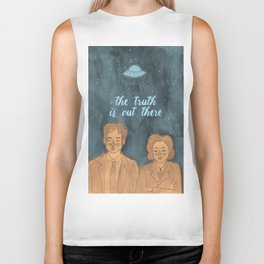 The Truth Is Out There Biker Tank