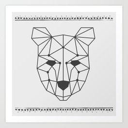 Totem Festival 2015 - Black & White Art Print