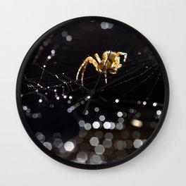 King of pearls Wall Clock