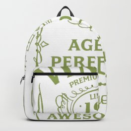 Green-Vintage-Limited-1963-Edition---54th-Birthday-Gift Backpack