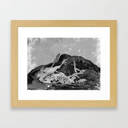 Chickens Framed Art Print