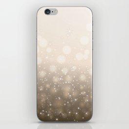 Christmas background iPhone Skin