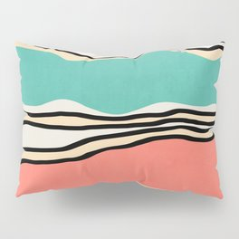 Modern irregular Stripes 10 Pillow Sham