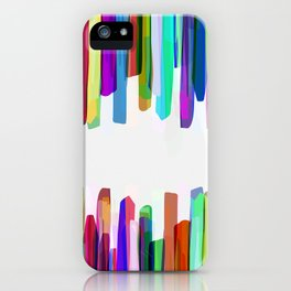 Colorful Stripes 3 iPhone Case