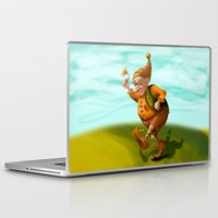 gnome Laptop & iPad Skins featuring Gnome by OlgaShefranov