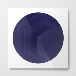 HOW DEEP IS YOUR BLUE? Metal Print