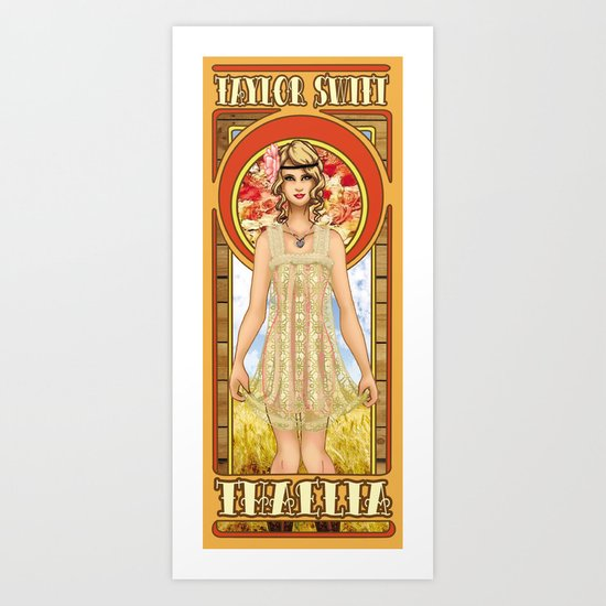 The Muse of Comedy Art Print