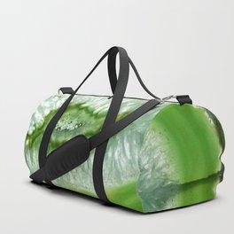 Parakeet Green Agate Slice Duffle Bag