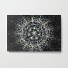 Julia Mandala 3 Metal Print