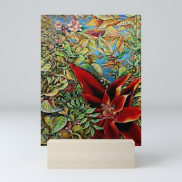 The Red Flower: Julie Northey Mini Art Print