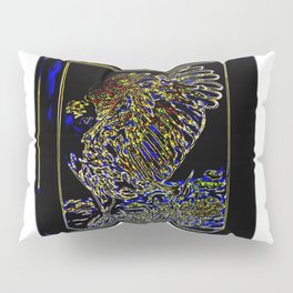 Bird Models: Magnified Eagle 01-03 Pillow Sham