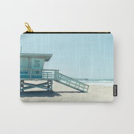 Hermosa Beach Lifeguard Tower 19 Carry-All Pouch