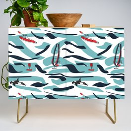 A Day on the Water Credenza