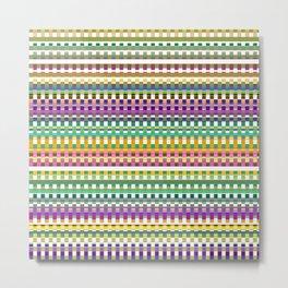 Pattern FG Metal Print