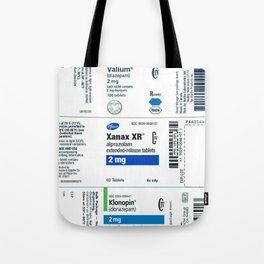 Drug Labels Tote Bag
