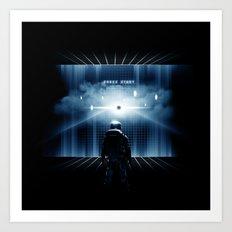 Dimension 404 Art Print