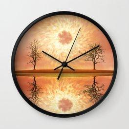 Futuristic Visions 04 Wall Clock