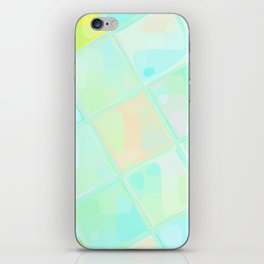Re-Created Mirrored SQ LX by Robert S. Lee iPhone Skin