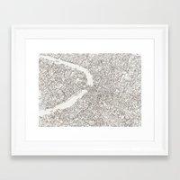 venice Framed Art Prints featuring Venice by Abigail Daker