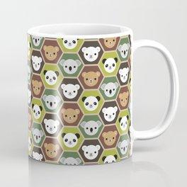 Kawaii Autumn Bears Coffee Mug