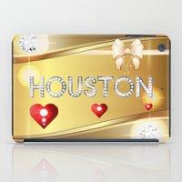 houston iPad Cases featuring Houston 01 by Daftblue