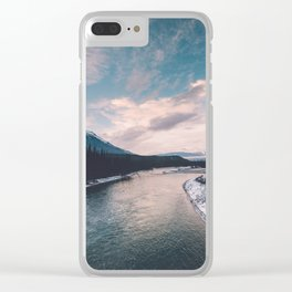 Icefields Parkway, AB III Clear iPhone Case