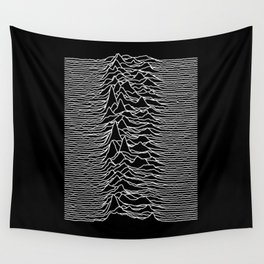 Joy Division - Unknown Pleasures Wall Tapestry