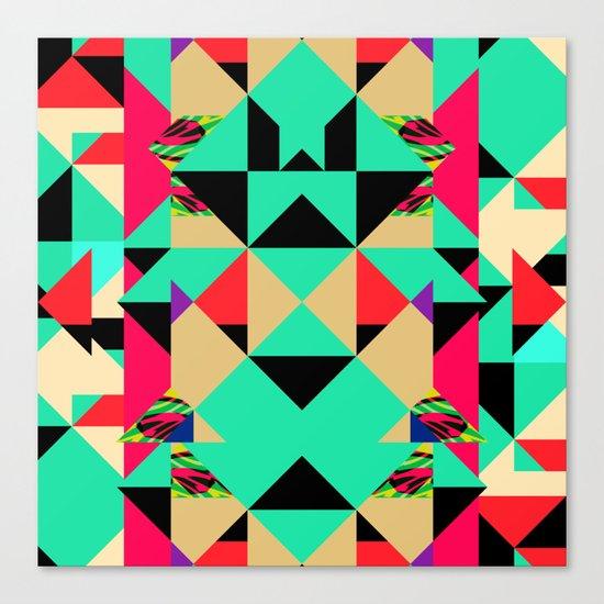 Colour Cuts #2 Canvas Print