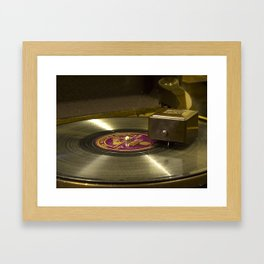 Off the record Framed Art Print