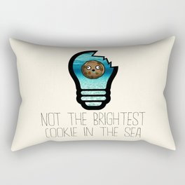 Not the Brightest Cookie in the Sea Rectangular Pillow