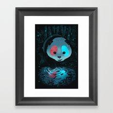 I'm so real! Framed Art Print