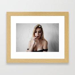 Inhale x1 Framed Art Print