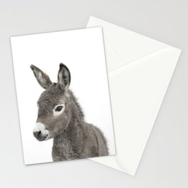 Baby Donkey Stationery Cards