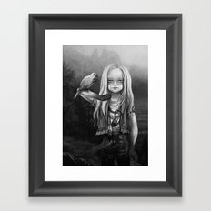 Gates of Neverland Framed Art Print