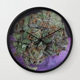 Grape Ape Medicinal Medical Marijuana Wall Clock