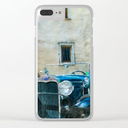 A Model Clear iPhone Case