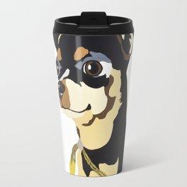 Fidget Wigglesworth in Blue Travel Mug