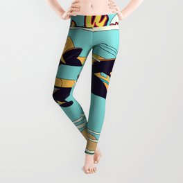 Take a Vacation! Hawaii Leggings
